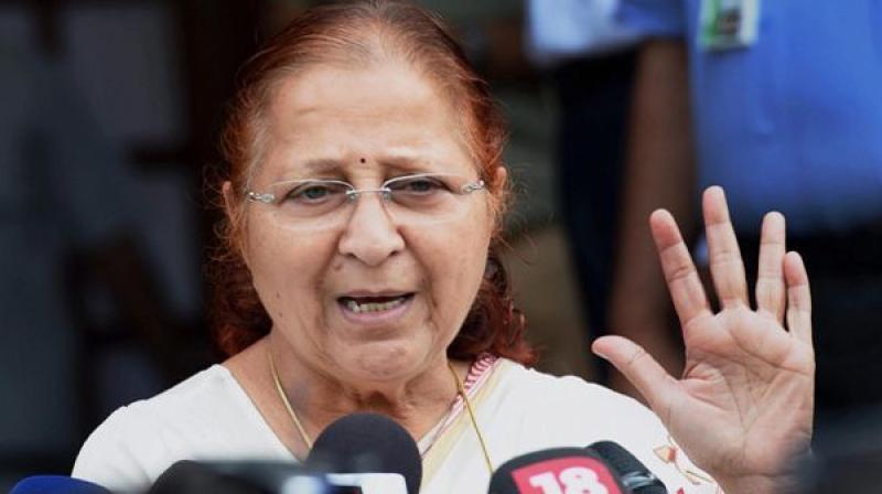 'Everyone should also feel that there should be no atrocity against the deprived castes,' Lok Sabha Speaker Sumitra Mahajan said. (Photo: File | PTI)