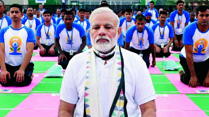 Prime Minister Narendra Modi had led the second International Yoga Day celebrations on June 21 in Chandigarh.