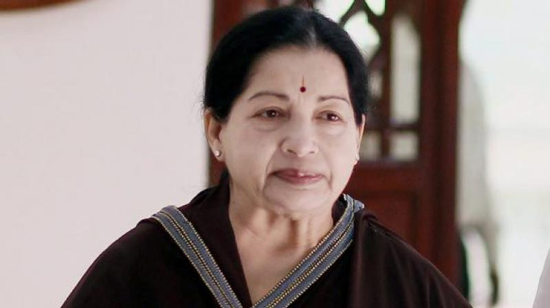 Tamil Nadu CM J Jayalalithaa