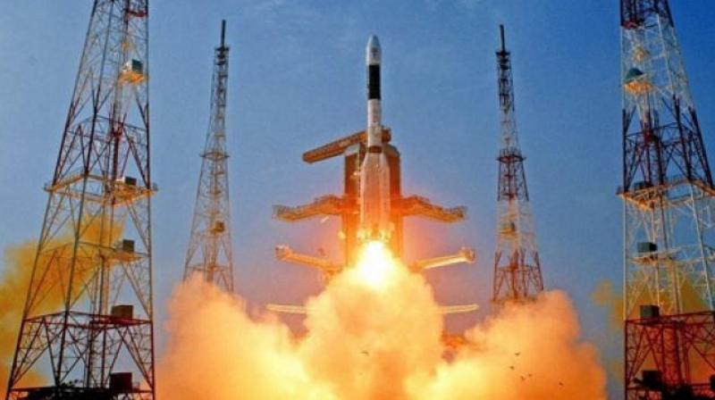 The 48-and-a-half-hour counted down for PSLV-C35/SCATSAT-1 Mission started at 8:42 AM. (Represetational image)