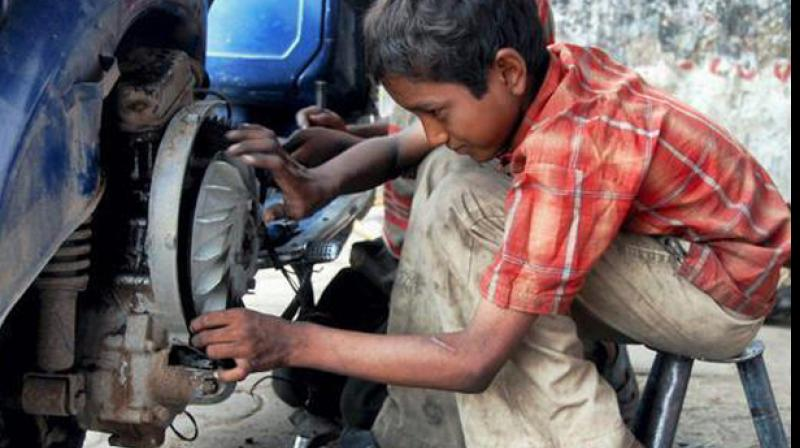 A case is registered under the Juvenile Justice Act and Child Labour Act in Balapur police station. (Photo: Representational image)