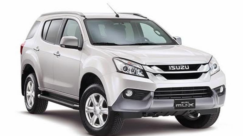 Isuzu to launch MU-X SUV by the end of 2016
