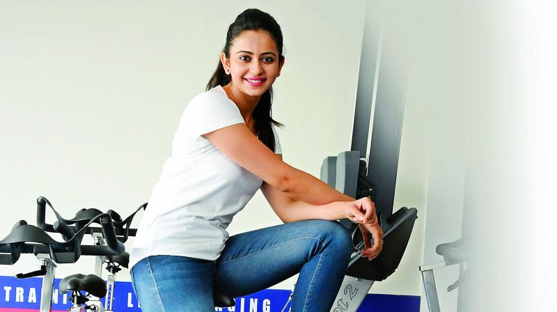 Rakul Preet Singh works out every day.