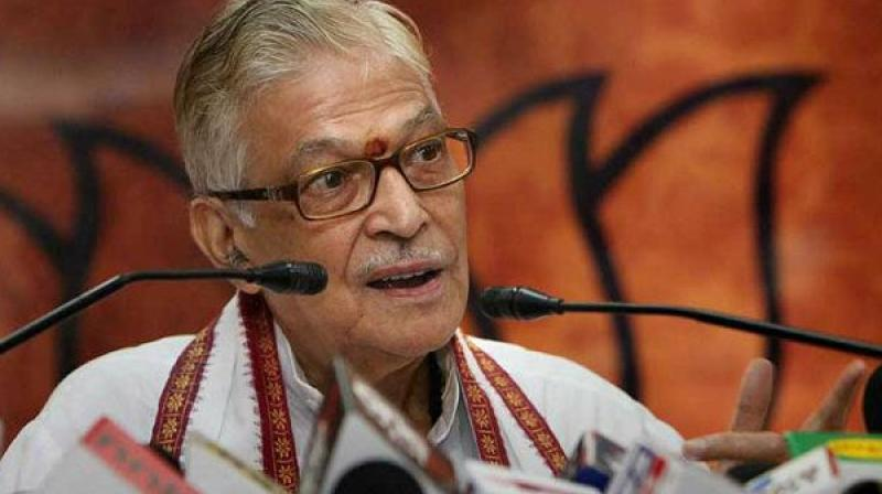 Earlier this year, Joshi had said in a statement that he was conveyed by the BJP General Secretary (Organisation), Ram Lal, about the party leadership's decision that he should not be contesting the elections.