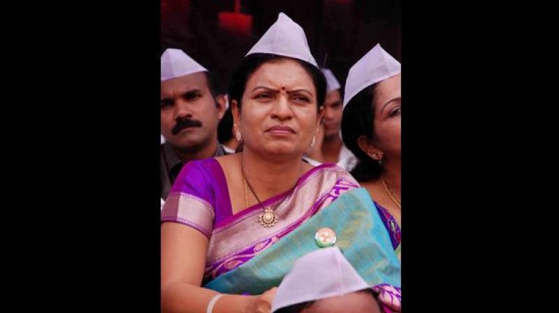 Former minister and Congress Gadwal MLA D.K. Aruna
