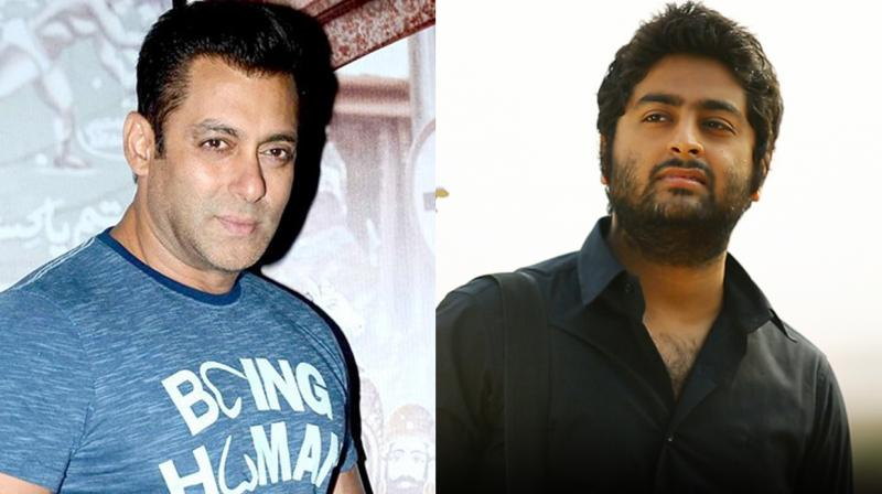 """Salman Khan said, """"In every film there are lot of singers who sing anddirector and producer who make the choice of who is going tobe the best voice for the film."""""""
