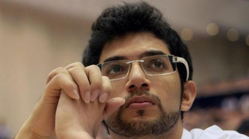 'Usually, a party like Shiv Sena is taken to be right wing, so you have Hindutva, which of course is one of our ideologies,' Aaditya Thackeray said. (Photo: File)