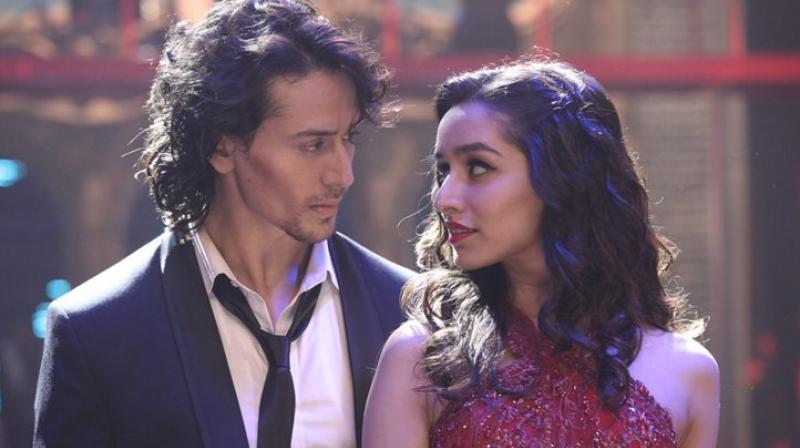 Shraddha Kapoor and Tiger Shroff in Baaghi.