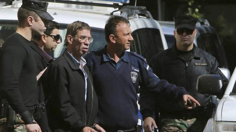 "The Cypriot ex-wife of an Egyptian man who authorities say admitted to hijacking a domestic EgyptAir flight and threatened to blow it up with a fake suicide belt says her former husband is an ""extremely dangerous man"" who used drugs, terrorised his family and beat her and their children. (Photo: AP)"