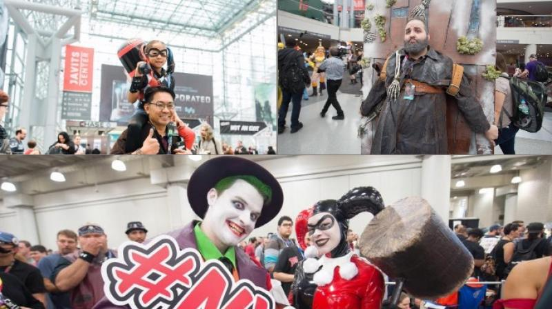 The event was first organised in 2006 and is currently in its 10th year (Photo: Facebook/ New York Comic Con)