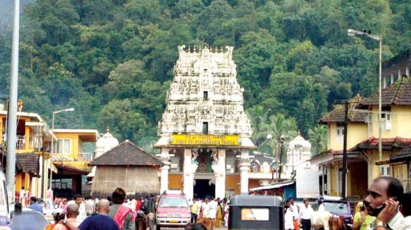 With the level of water of 'Teertha bhavi,' (the well from where water is used for 'abhishekam' and 'Teertha') dipping, the authorities had stopped distributing 'Teertha' bottles to devotees from April 21, a move which upset villagers and disciples resulting in a complaint reaching the minister for religious endowment when he visited Kukke recently.