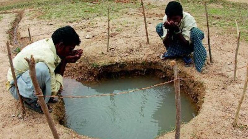 By the end of 2015-16 water year, groundwater fell in in 332 of the 464 mandals in Telangana as compared to May 2015 figures. (Representational image)