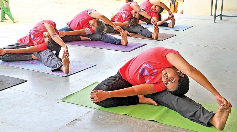 Isha Hatha Yoga teachers, trained by Sadhguru, will conduct yoga sessions for the troops at Minnie Bay, Haddo and Birchgunj in Port Blair.