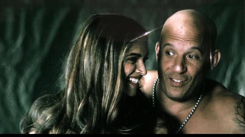 Deepika Padukone with Vin Diesel in 'XXX: The Return of Xander Cage'