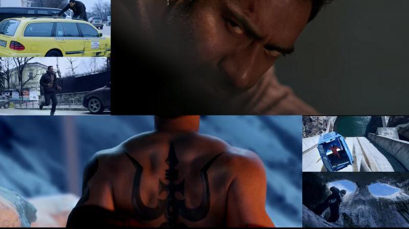 Screengrabs from 'Shivaay' trailer