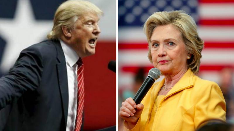 Clinton, Trump at odds over tackling terrorism, guns