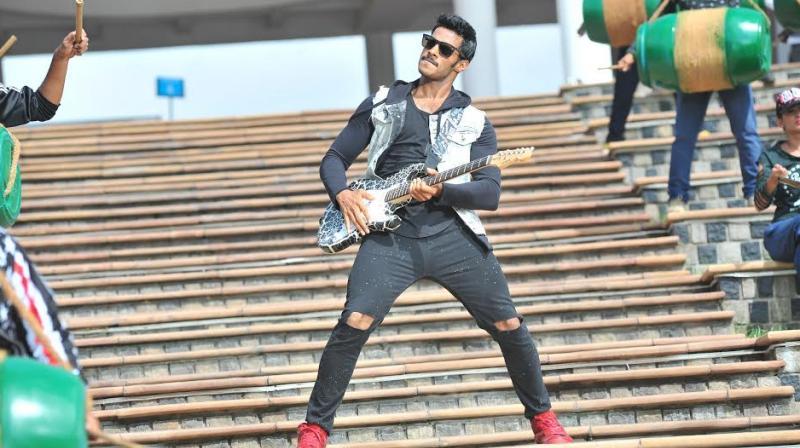 Nikhil Kumar makes his debut with 'Jaguar'.