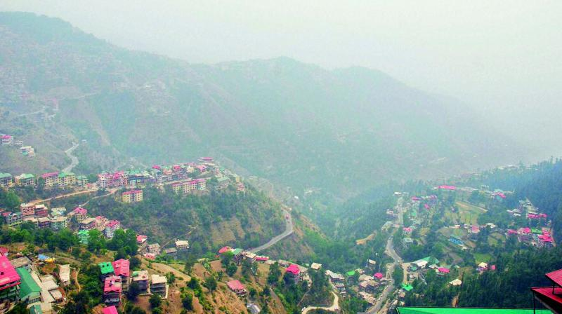 Also known as the queen of hills, Shimla was declared the summer capital of British India in 1864. It remained that way till India got independence in 1947. (Photo: PTI   file)