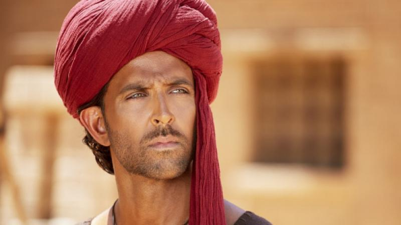 Hrithik Roshan in a still from the movie.