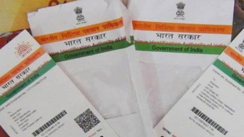 The new e-filing system allows online verification of a persons' ITR by using either the Aadhaar number