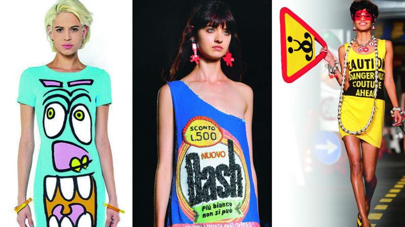 Creations from Jeremy Scott, Au Jour Le Jour, Moschino.