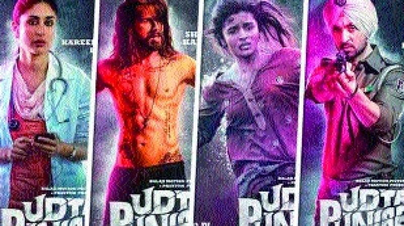 The movie delves into how the youths in Punjab have succumbed to drugs