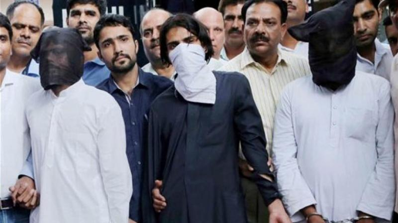 The detained youth returned home after being interrogated (Photo: PTI)