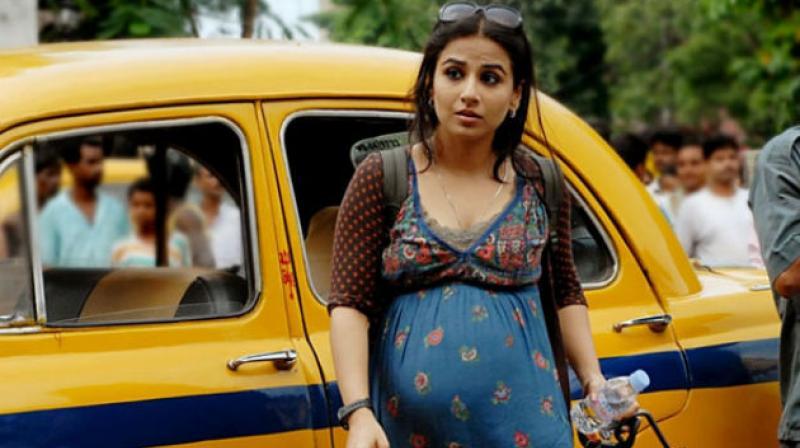 A still of Vidya Balan from 'Kahaani'.