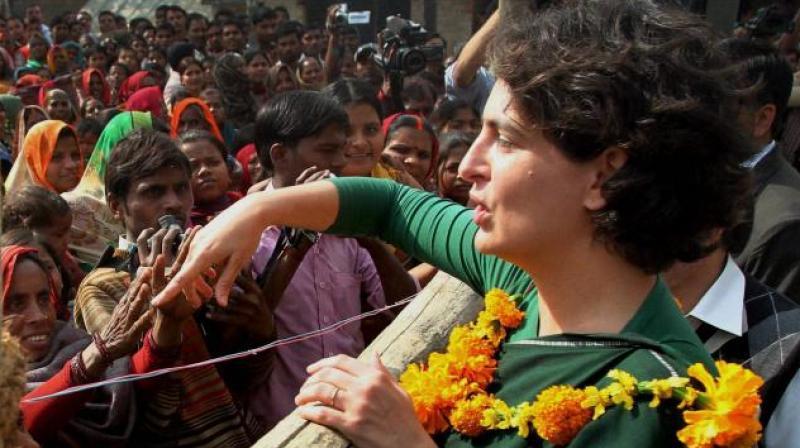 Congress leader Priyanka Gandhi Vadra (Photo: PTI)