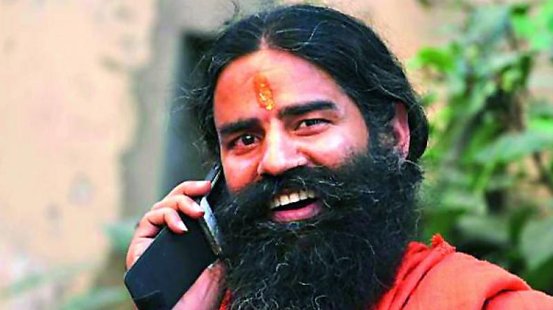 Baba Ramdev said their company products are reaching right up to Canada.