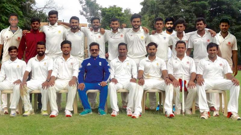 Swastic Union Cricket Club (1), winners of the KSCA Group I–I Division cricket league.