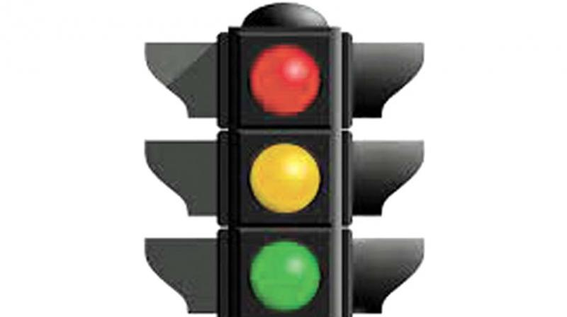 The traffic lights did not work for two days and no one was posted to control the traffic either. (Representational Images)