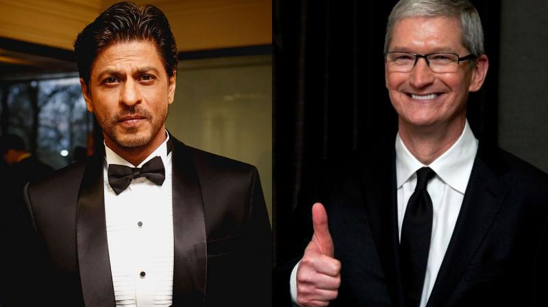 Shah Rukh will reportedly host a dinner party for Tim Cook tonight.