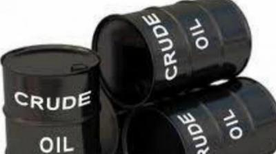 US West Texas Intermediate (WTI) crude futures were down 40 cents, or 0.7 per cent, at USD 59.03 a barrel.