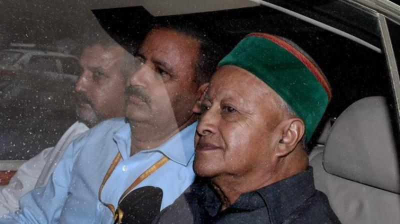 Himanchal Pradesh Chief Minister Virbhadra Singh. (Photo: PTI)
