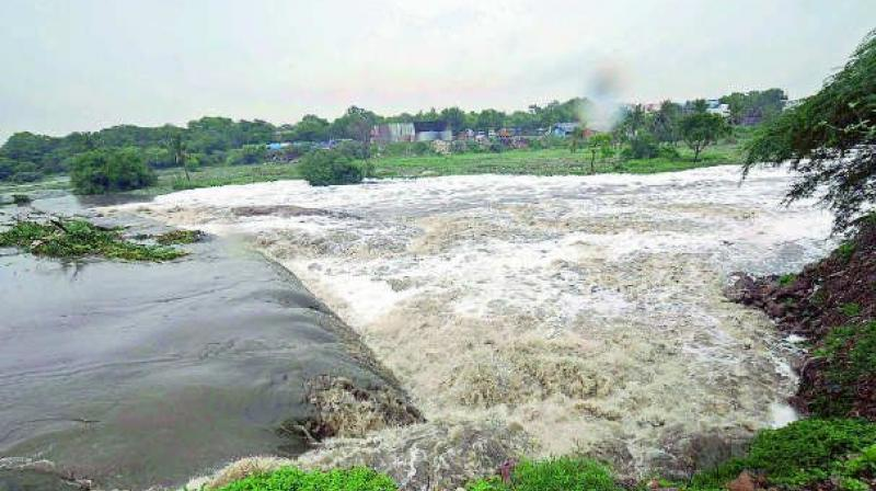 The state government has requested the Krishna River Management Board (KRMB) to release 4 TMC feet water for Krishna Pushkaralu.