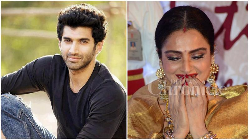 The 'Aashiqui 2' actor Aditya feels he has become a better actor by merely observing Rekha.