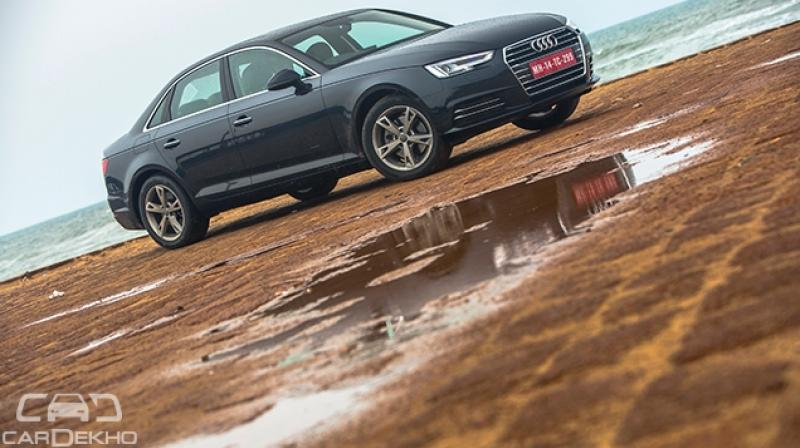 The overall familiarity of the design is to keep the identity of the A4 intact, you cannot mistake it for any other car and it looks rather elegant in form. The new DRLs look good and edgy.