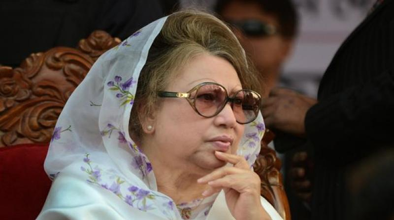 Former President and Opposition leader Khaleda Zia. (Photo: AFP)