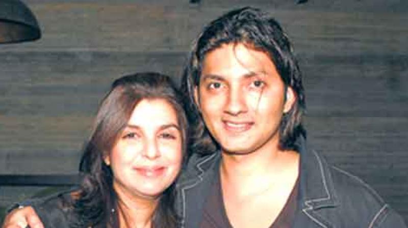 Shirish Kunder with Farah Khan