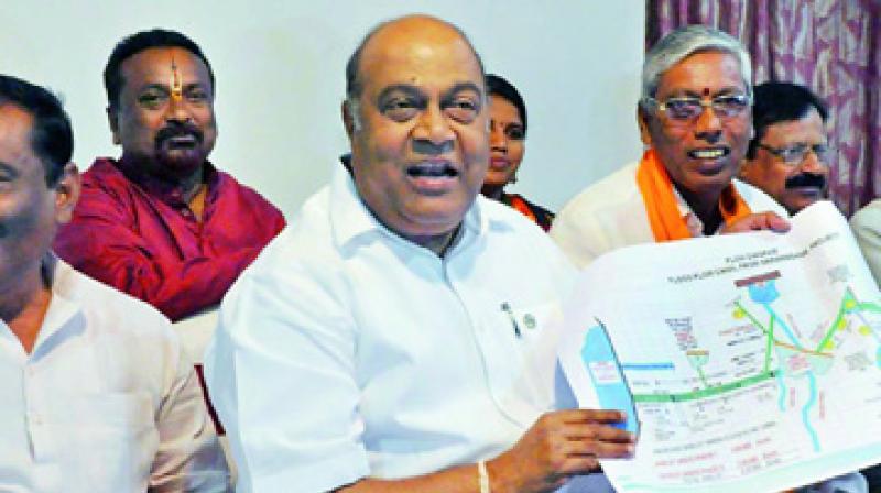 BJP leader Nagam Janardhan Reddy