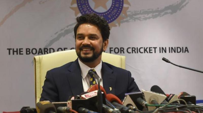 BCCI president Anurag Thakur, who has been a vocal critic of this move terming it a detrimental and retrograde step for the financially weaker nations, welcomed the ICC's move to withdraw the two-tier Test proposal. (Photo: AFP)