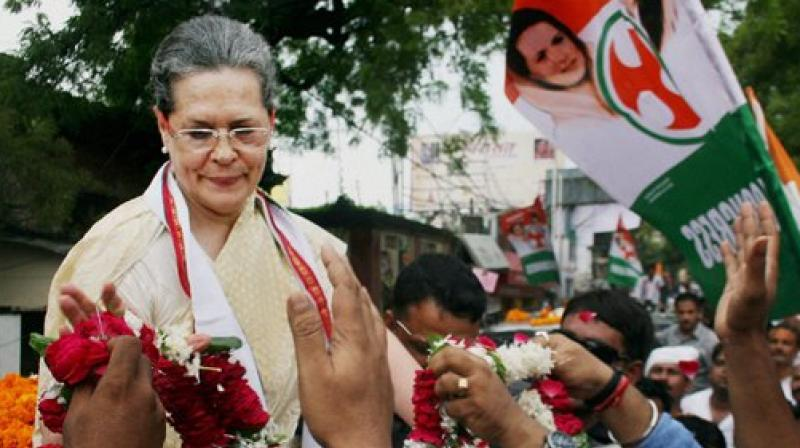 Sonia Gandhi was admitted to the Army's Research and Referral Hospital late last night due to high fever. (Photo: PTI)