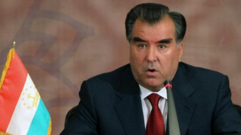 Tajikistan's President Emomali Rahmon said a jailed opposition group attempted to build an 'Islamic state' and trigger a civil war in the secular country. (Photo: AFP)