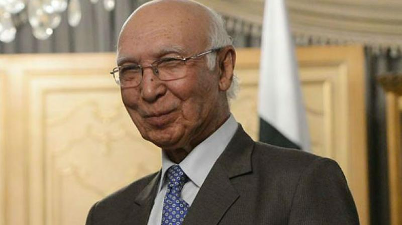 Pakistani Prime Minister Nawaz Sharif's Foreign Affairs Adviser Sartaj Aziz. (Photo: AP)