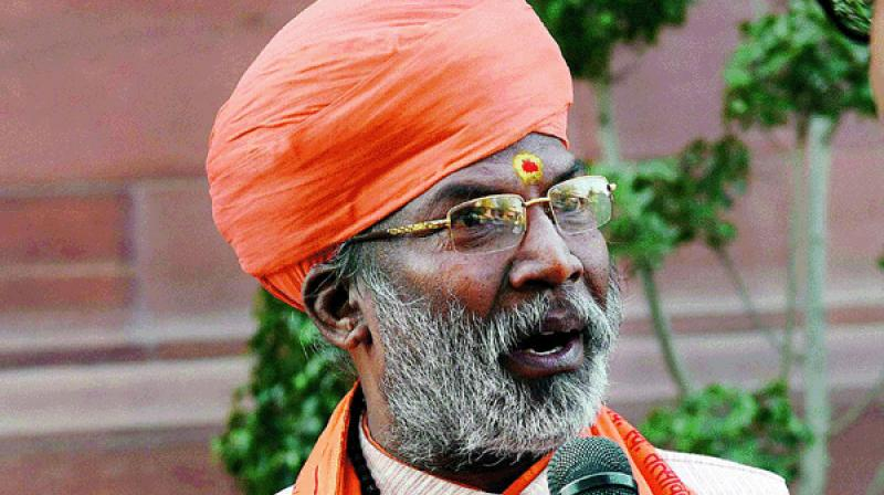 BJP MP Sakshi Maharaj said if there is further violence, the courts will be responsible. (Photo: PTI | File)