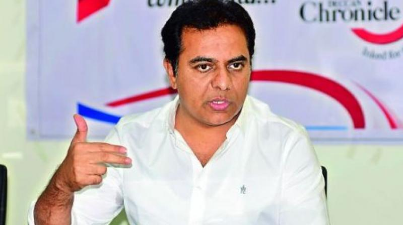 KT Rama Rao gets business ministries, Talasani Srinivas