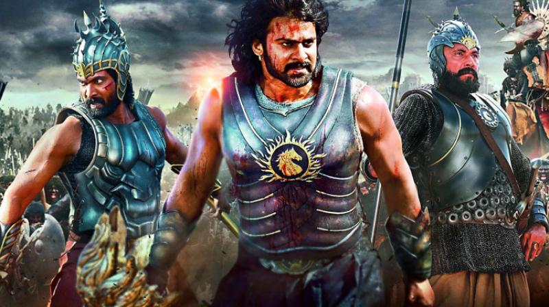 A still from the movie Baahubali which one the National Award
