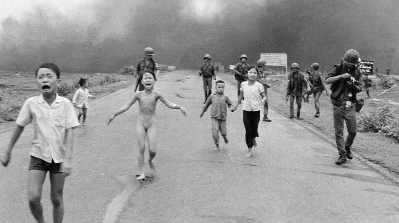 The picture was aken by Vietnamese photographer Nick Ut Cong Huynh for Associated Press, the picture was honoured with the Pulitzer Prize. (Photo: AP)
