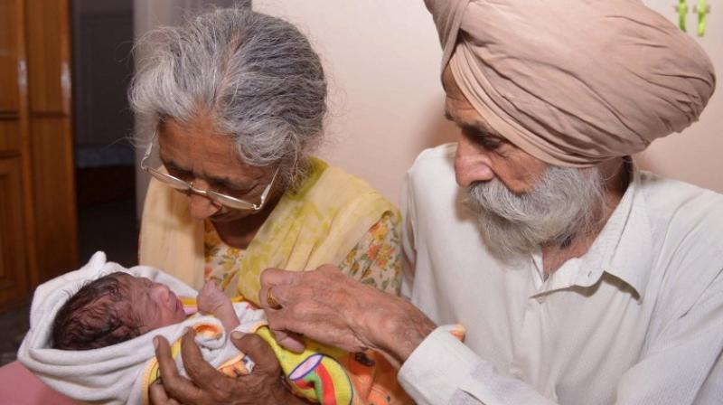 It has emerged that Mohinder Singh Gill decided to have a child in order to secure his father's inheritance (Photo: AFP)